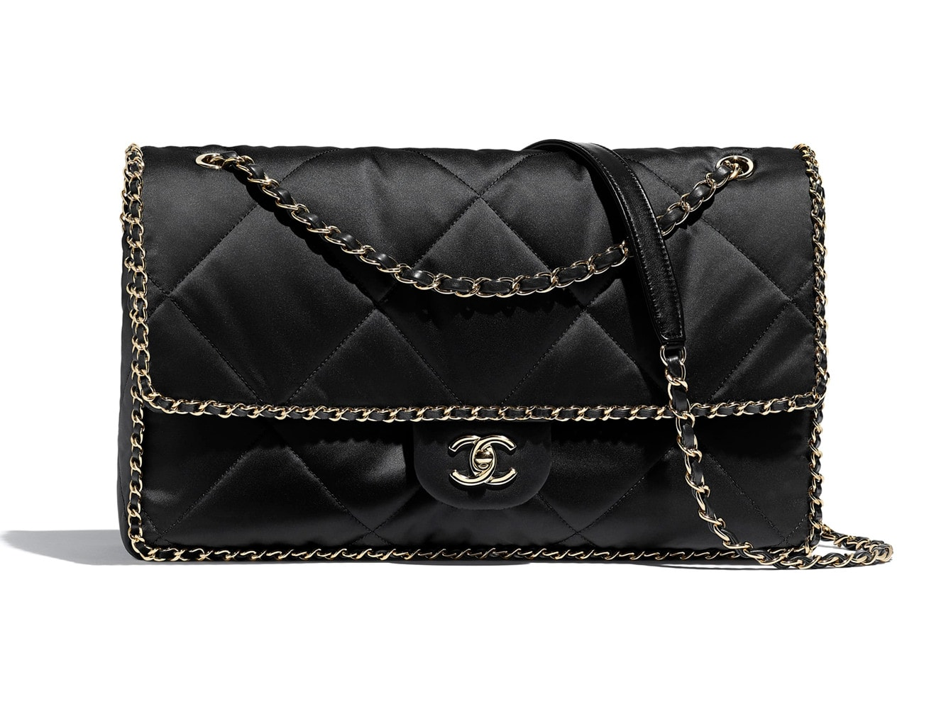 Chanel-Satin-Flap-Bag