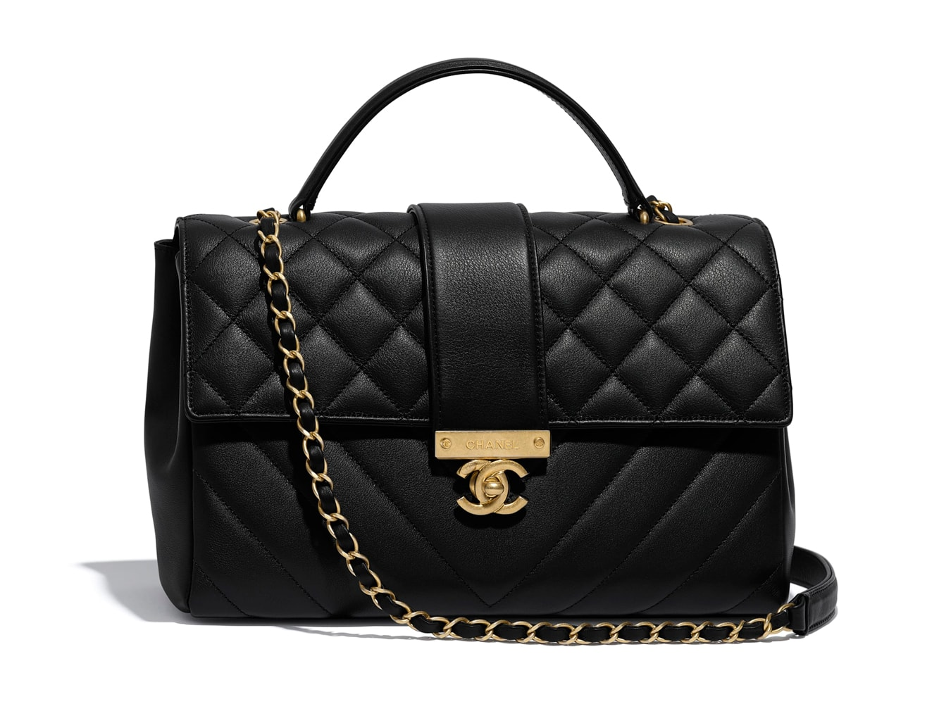Chanel-Top-Handle-Flap